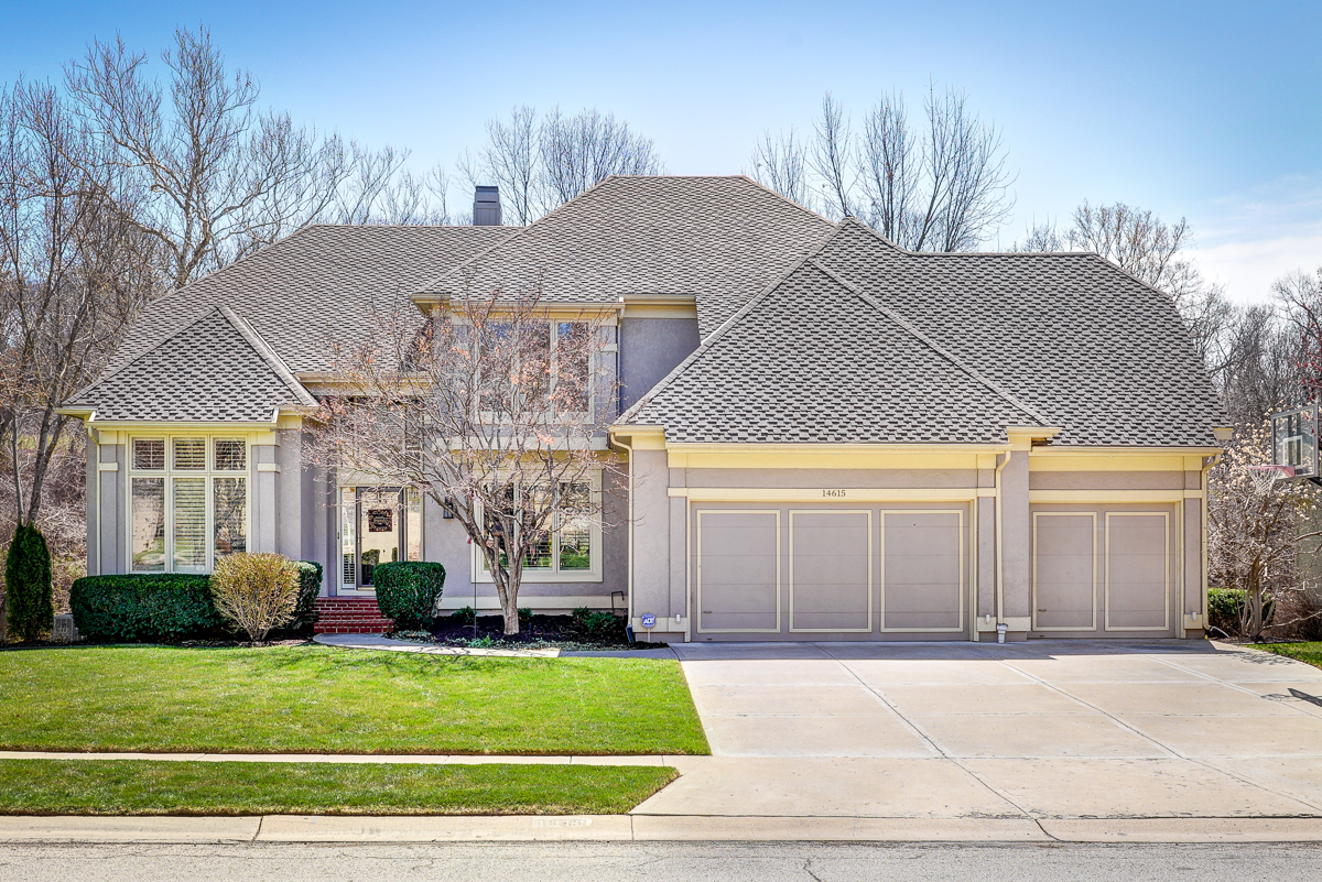Large 2-Story home for sale in in Shawnee with five bedrooms, five bathrooms, and 3,552 square feet of living space.