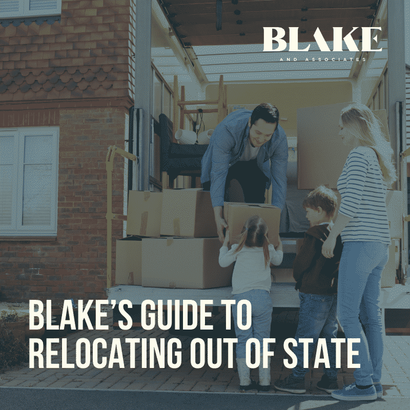 Blake's Guide to Relocating Out of State