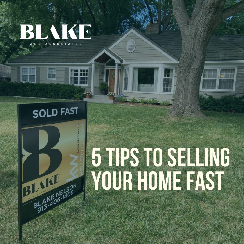 5 tips to selling your home fast